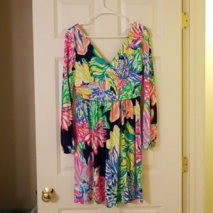 Lilly Pulitzer fleur dress